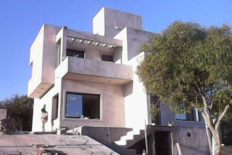 VIVIENDA UNIFAMILIAR CABALANGO - CORDOBA: Casas de estilo  por SITTNER / RONCO RAMPULLA ARQUITECTOS