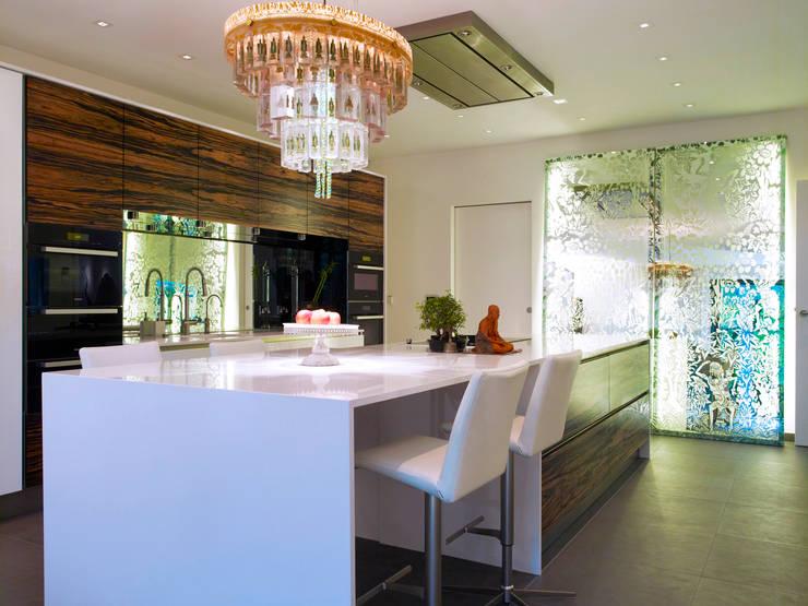modern Kitchen by Baufritz (UK) Ltd.