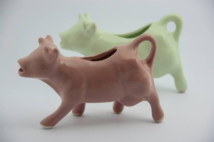 Vaquita Lechera: Cocinas de estilo  por FRIDA ceramica
