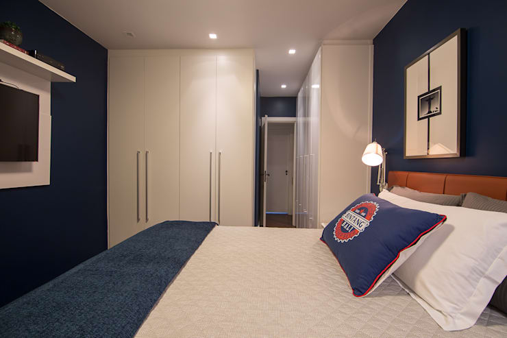 Apartamento Leblon: Quartos  por Duplex Interiores
