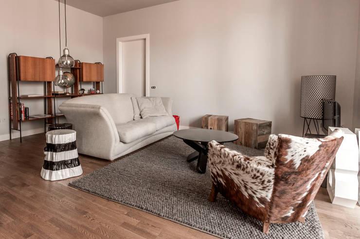 Salas de estar  por Galleria del Vento, Escandinavo