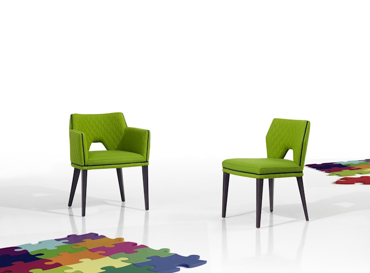 Jasper Collection:   por Fenabel-The heart of seating,Moderno Madeira Acabamento em madeira