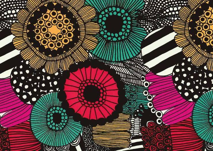 Lona Marimekko: Hogar de estilo  por Luc*At diseños,