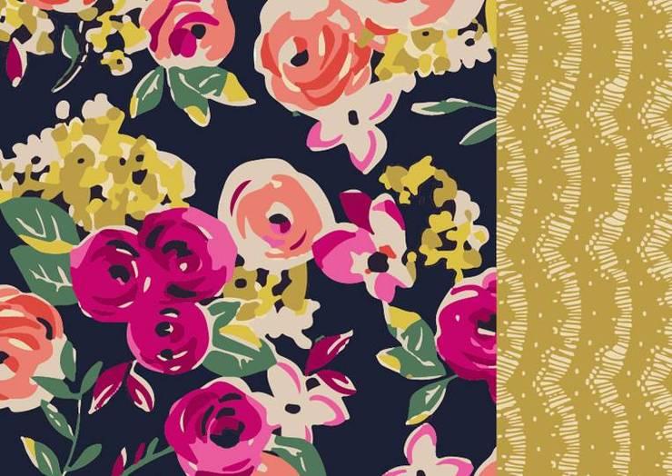 Lona Delicate pink: Hogar de estilo  por Luc*At diseños,