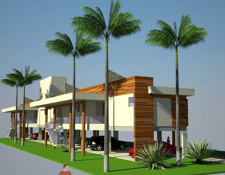 Pousada R.V: Hotéis  por Habita Arquitetura ,