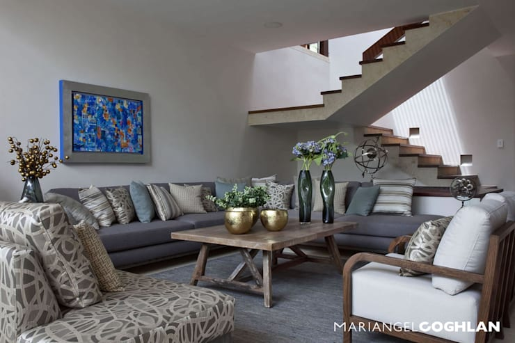 Wohnzimmer von MARIANGEL COGHLAN