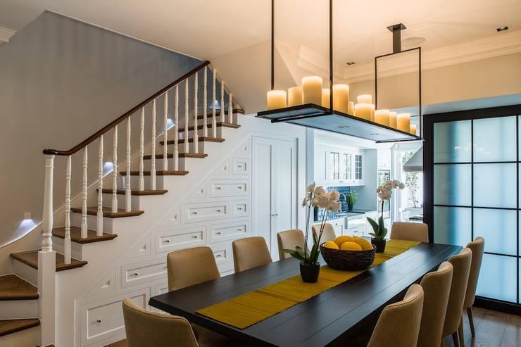 townhouse londres: Salas de jantar modernas por Toninho Noronha Arquitetura