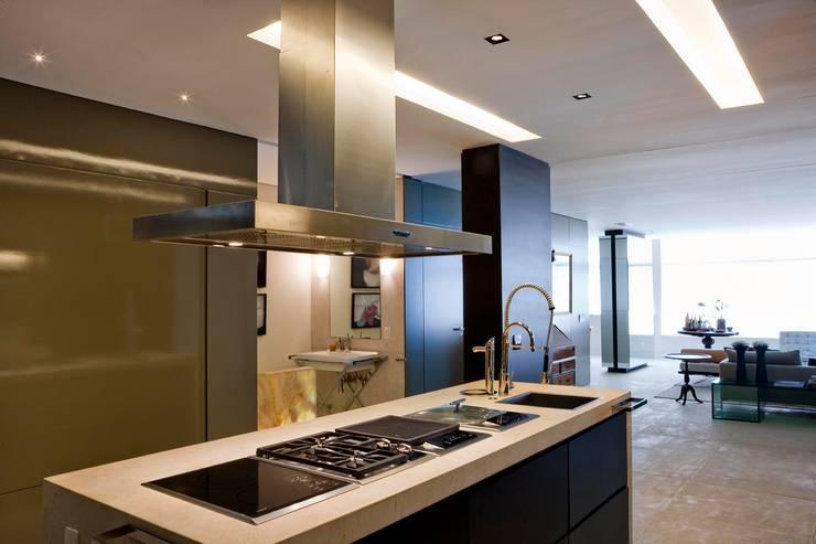 Apartamento Leblon: Cozinhas  por Toninho Noronha Arquitetura