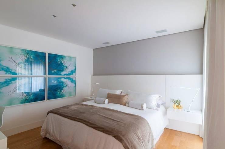 Apartamento VNC 6: Quartos  por Toninho Noronha Arquitetura