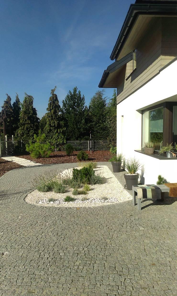 Projekt ogrodu nowoczesnego : styl , w kategorii Ogród zaprojektowany przez BioArt Ogrody, Architektura Krajobrazu