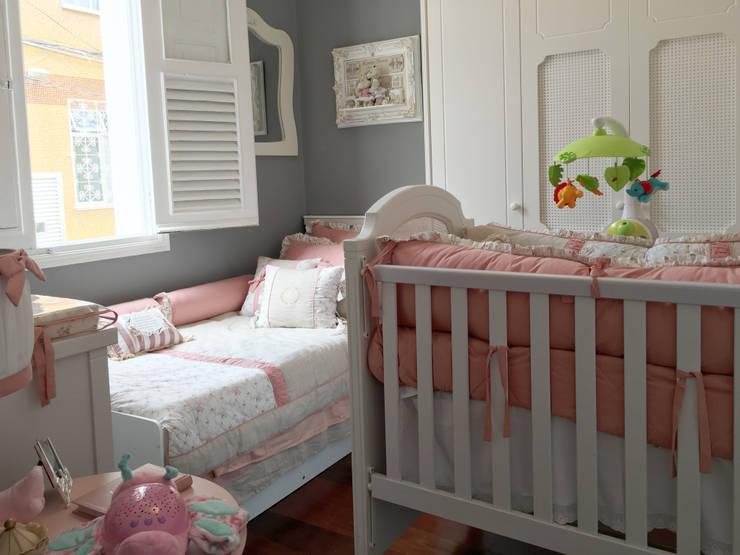 Habitaciones infantiles de estilo  por Paula Werneck Arquitetura