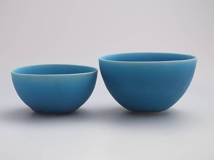 coco#1,2 turquoise: AYAKO SASAKI porcelainが手掛けたキッチンです。