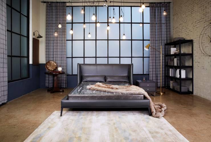 리스톤 딘 침대와 운모석 스톤 매트리스: 리스톤의  침실