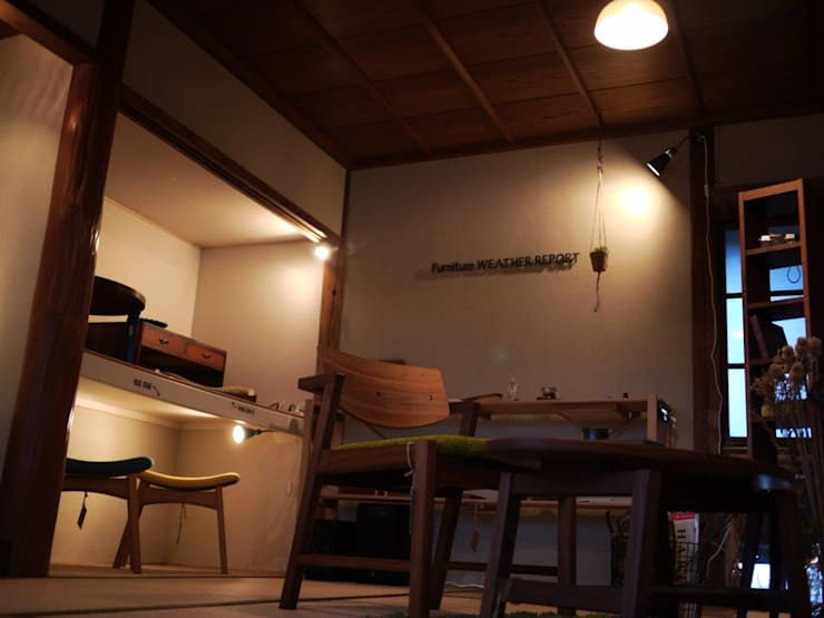 GALLERY: furniture factory store WEATHER REPORTが手掛けたリビングルームです。