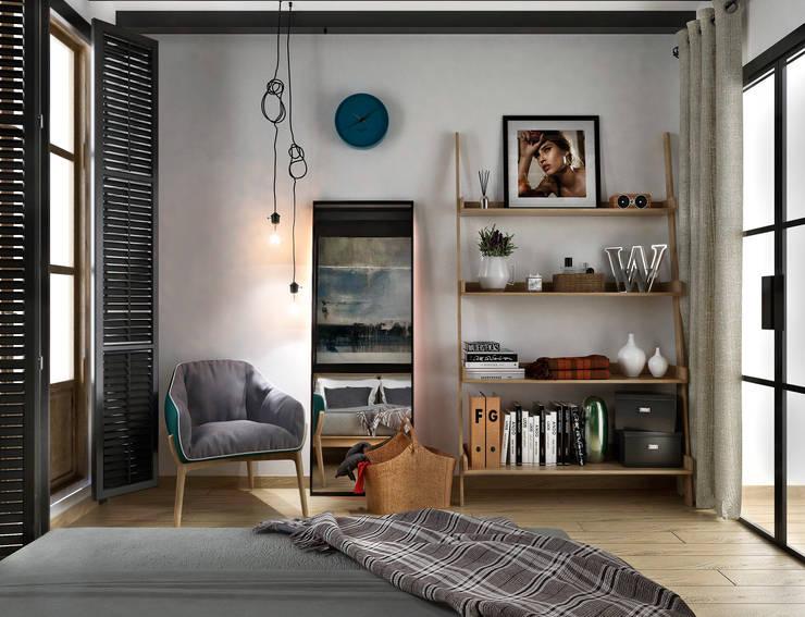 Dormitorios de estilo  de ONE STUDIO