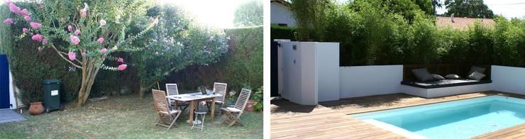 Projet Biarritz Californie: Jardin de style  par Atelier 10