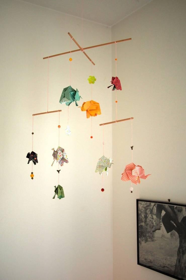 Mobile Origami Lphants Von Mizenpli Homify