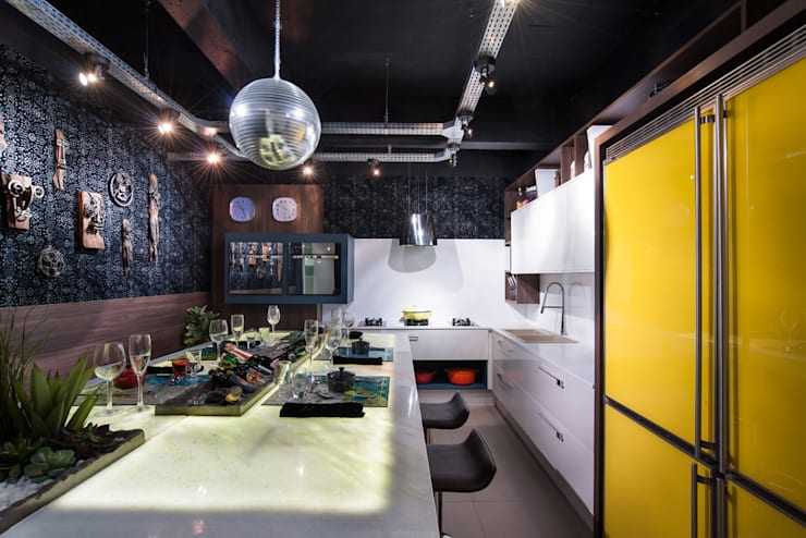 Cozinha Bontempo: Espaços comerciais  por Pinheiro Machado Arquitetura