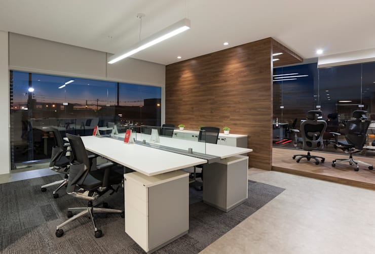 Projeto comercial : Lojas e imóveis comerciais  por Pinheiro Machado Arquitetura,