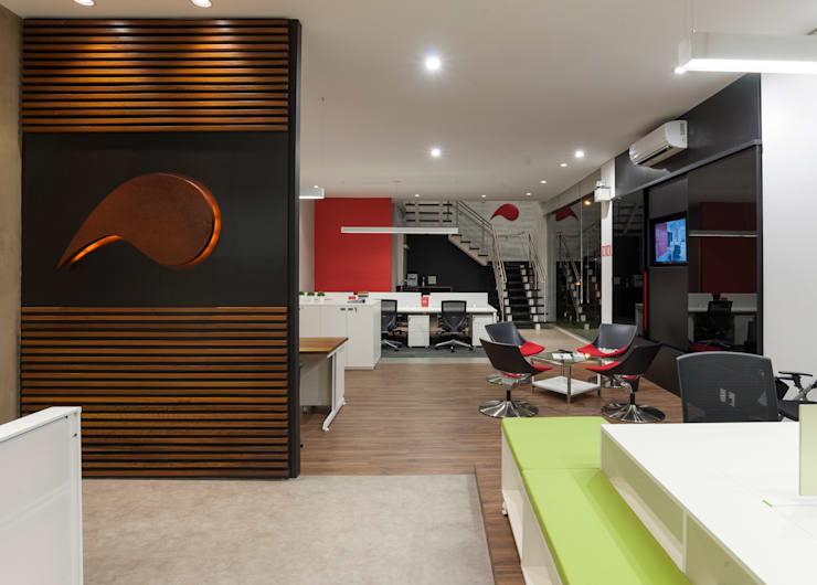 Projeto comercial : Lojas e imóveis comerciais  por Pinheiro Machado Arquitetura