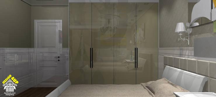 Dormitório Provençal - Campos do Jordão: Quartos  por Design4Up