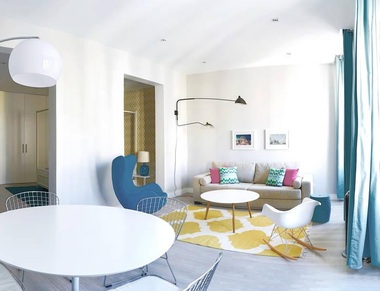 Living room by StudioBMK