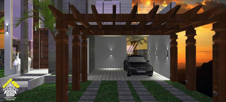 Fachada de Casa - Terras do Vale, Caçapava: Casas modernas por Design4Up