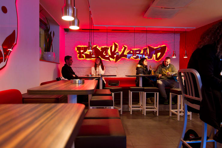 Rockland coffeeplace:  Bars & clubs door Diego Alonso designs