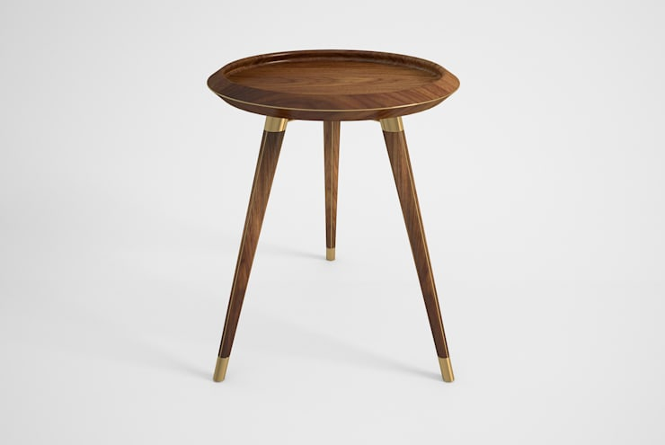 DEIL SIDE TABLE: Casa  por Craft Dream Productions