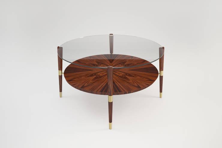 EMERY CENTER TABLE: Casa  por Craft Dream Productions