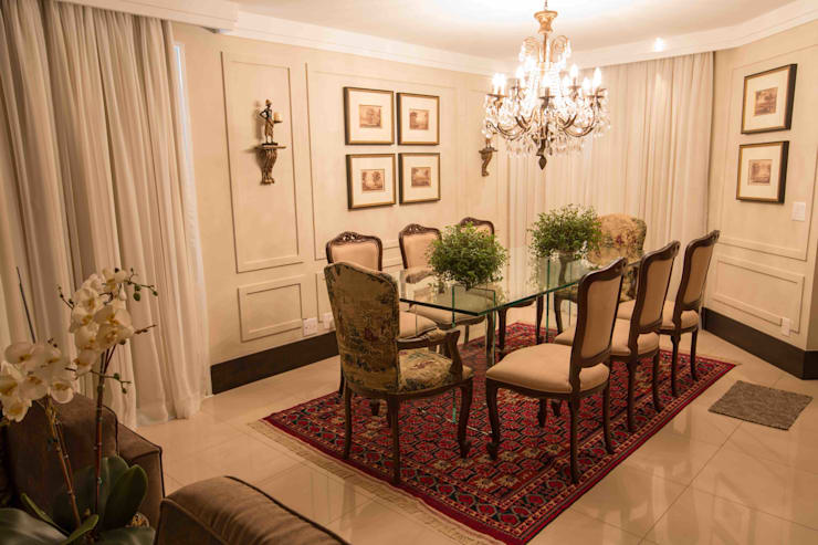 classic Dining room by Piloni Arquitetura
