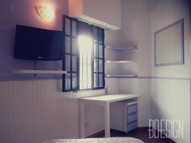Obra terminada: Dormitorios de estilo  por Estudio BDesign,