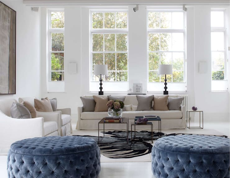 Living room by Ben Whistler Bespoke Furniture, London