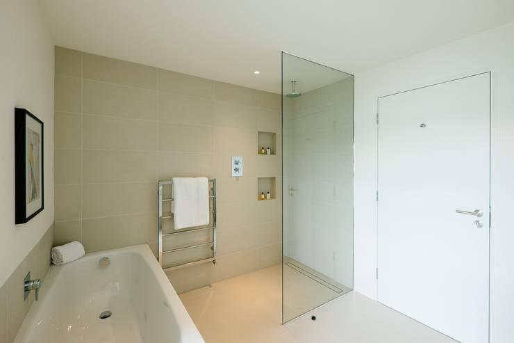 modern Bathroom by Perfect Stays