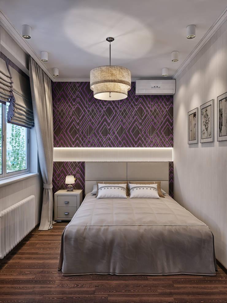 Phòng ngủ theo Мастерская дизайна ЭГО, Hiện đại