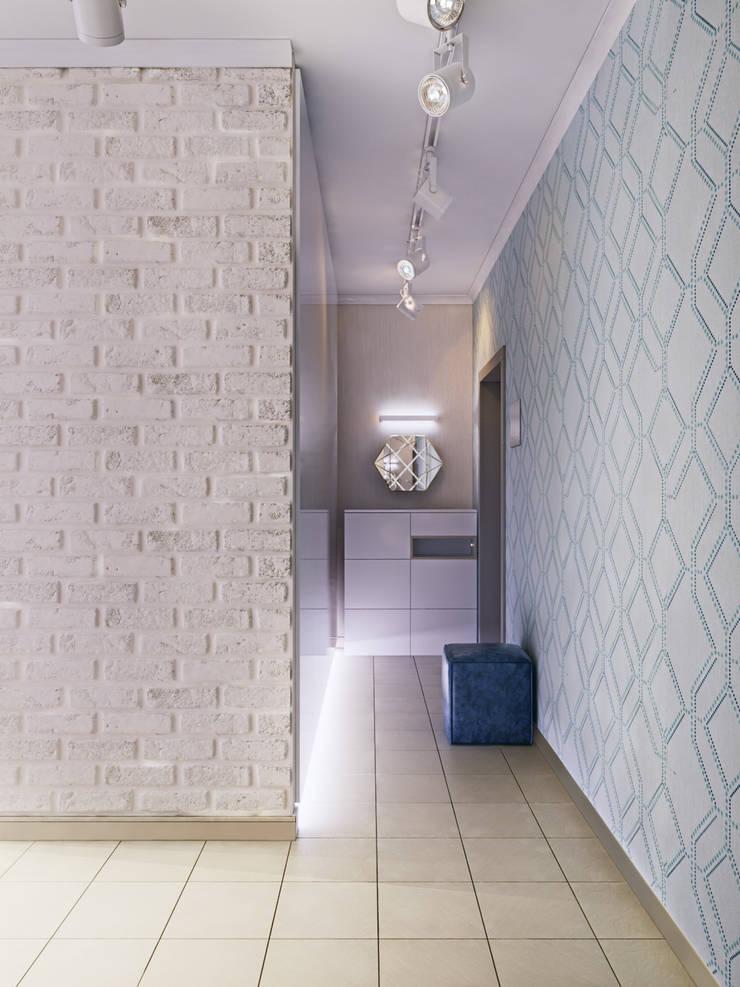 走廊 & 玄關 by Мастерская дизайна ЭГО, 隨意取材風