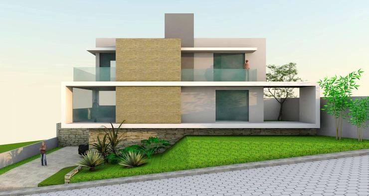 Casa mod.:   por Habita Arquitetura