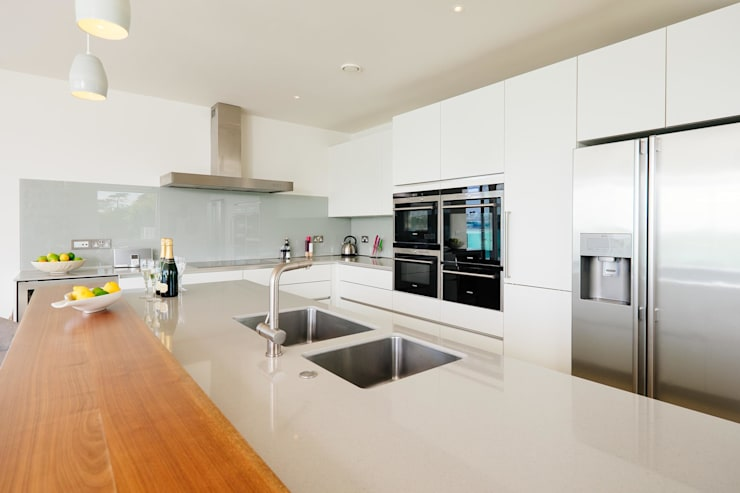 modern Kitchen by Perfect Stays