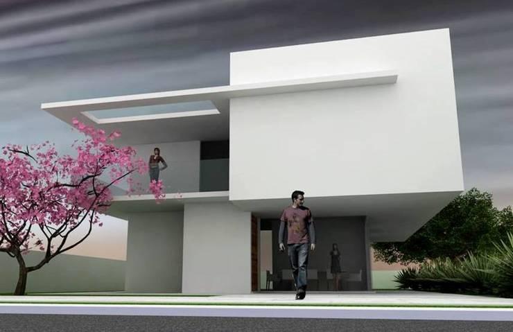 Estilo : Casas  por Habita Arquitetura