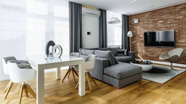 apartament Na Polanie, Gdynia: styl , w kategorii  zaprojektowany przez fotomohito