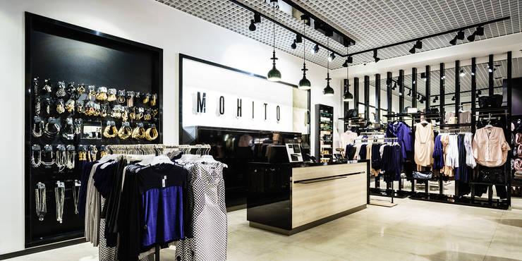 salon Mohito, Riviera, Gdynia: styl , w kategorii  zaprojektowany przez fotomohito