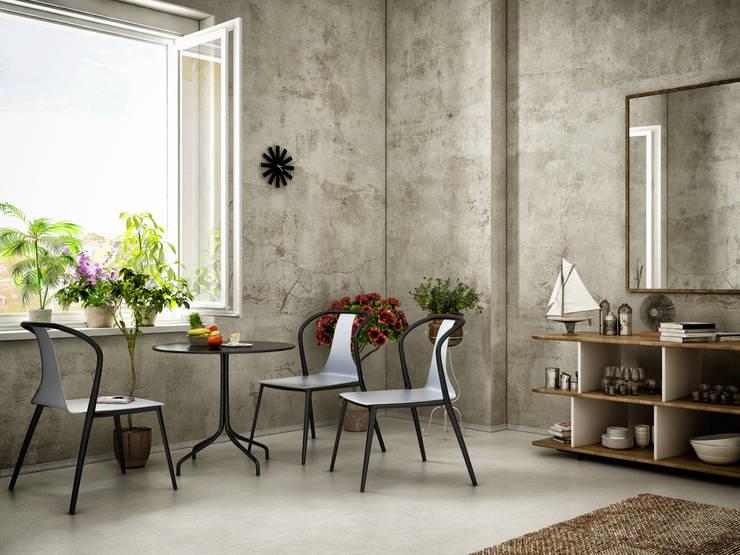 izzet ALŞAN 3D Architectural Visualization – Belleville Chair v1:  tarz , Kolonyal Ahşap-Plastik Kompozit