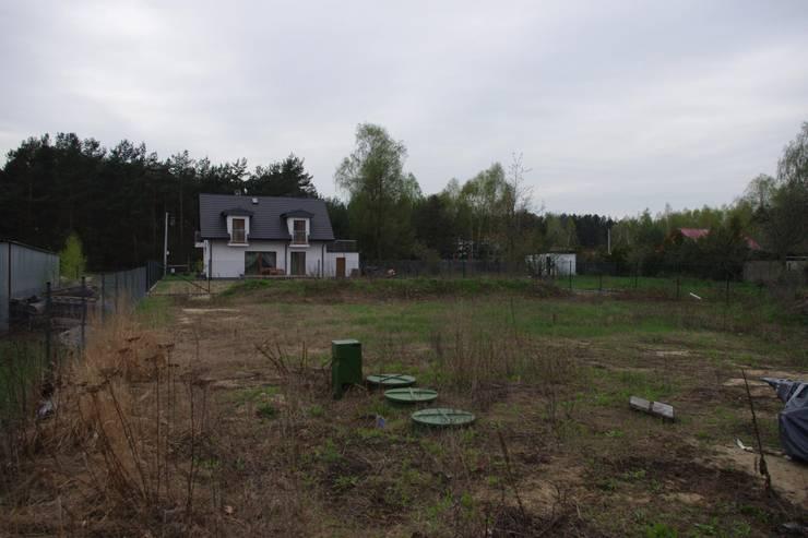 Teren przed rozpoczęciem prac ogrodowych.: styl , w kategorii  zaprojektowany przez BioArt Ogrody, Architektura Krajobrazu