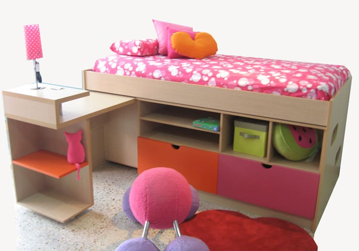 modern Nursery/kid's room by KiKi Diseño y Decoración