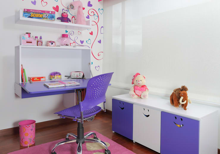 Muebles Infantiles:  de estilo  por KiKi Diseño y Decoración, Moderno