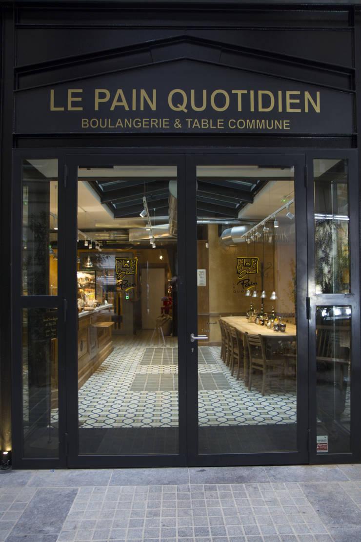 Le Pain Quotidien:  Kantoor- & winkelruimten door Mosaic del Sur België - Nederland