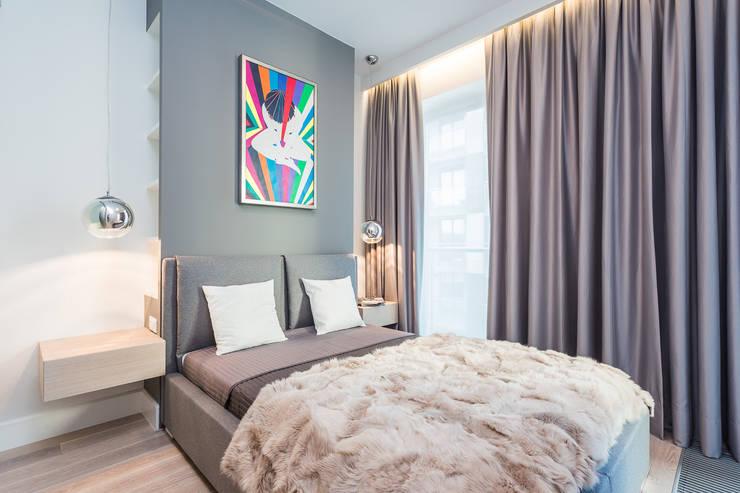 Apartament w Warszawie: styl , w kategorii Sypialnia zaprojektowany przez Michał Młynarczyk Fotograf Wnętrz