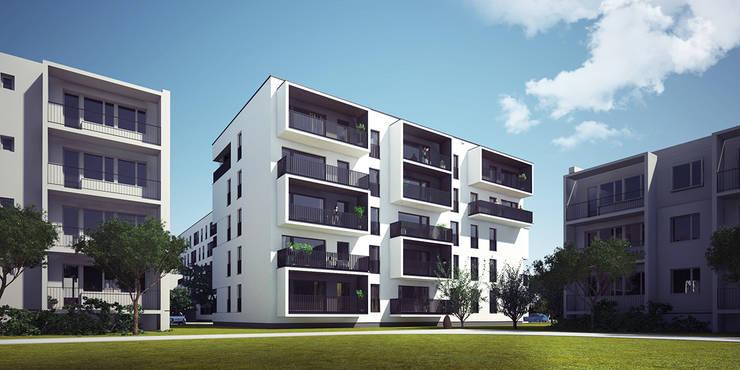 Minimalist houses by PROSTO architekci Minimalist