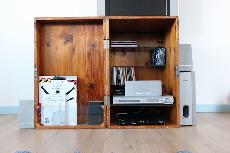 Living room by crónicas do habitar