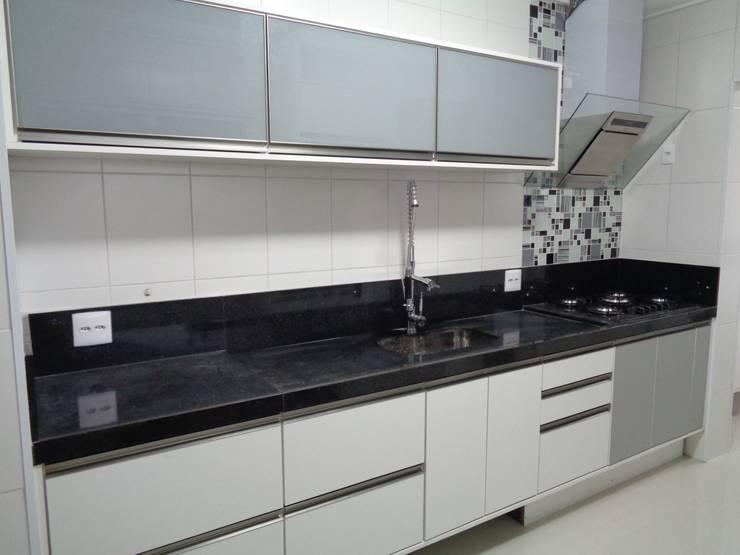 廚房 by MC3 Arquitetura . Paisagismo . Interiores, 現代風